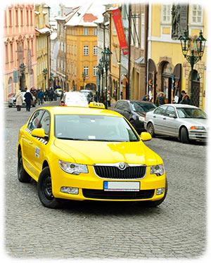 Taxis in Prag