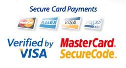 Wir akzeptieren die folgenden Zahlungsarten