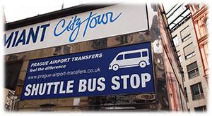 Shuttle Bus Stop